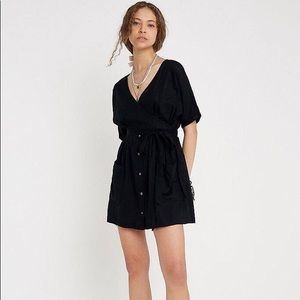 Urban Outfitters Wrap Dress with Patch Pockets